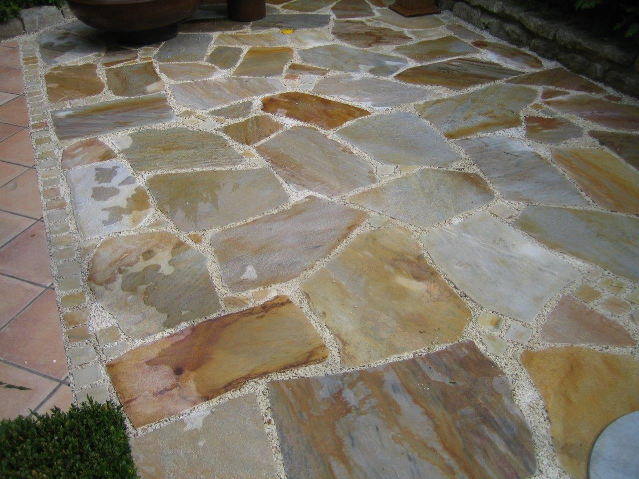 """Natursteinplatten """"Rio Dorado"""""""