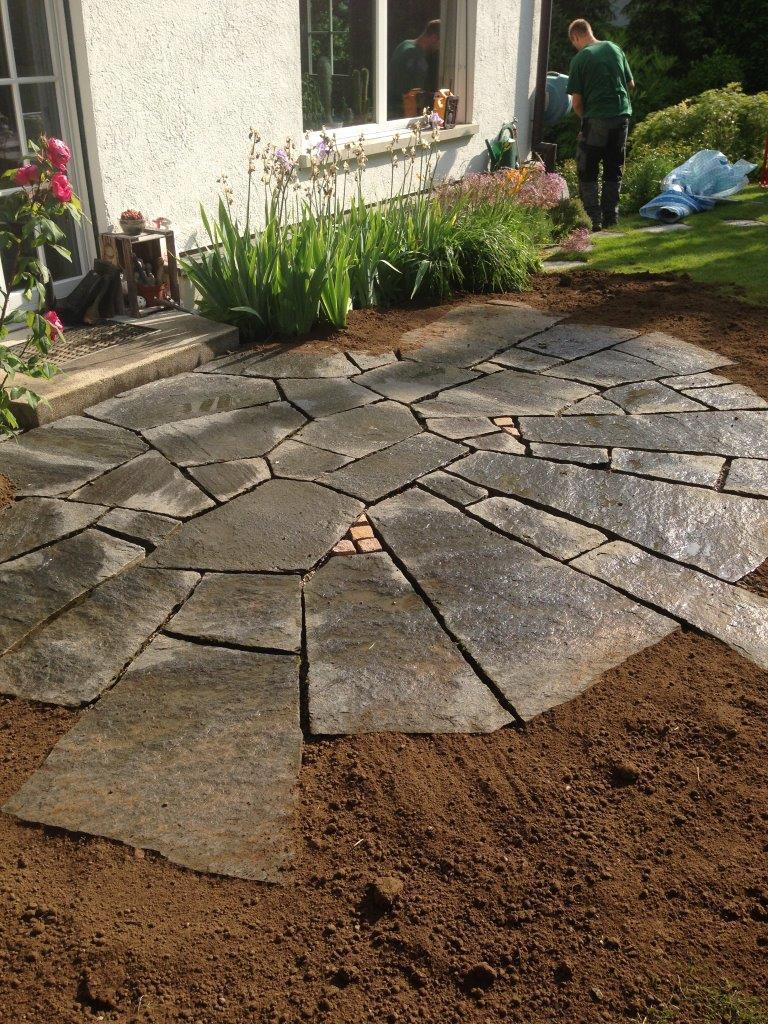Mosaik-Platten mit Granit