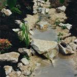 Wasserlauf mit Jurakalk